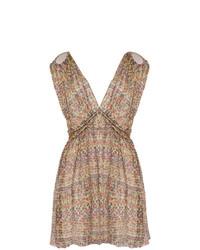 Vestido recto estampado en multicolor de Isabel Marant Etoile