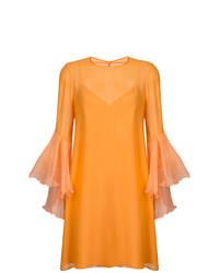 202bde609 Comprar un vestido recto naranja  elegir vestidos rectos naranjas ...