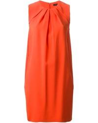 Vestido recto naranja de Joseph