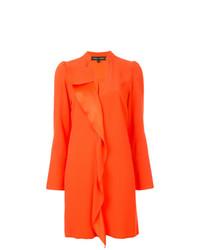 Vestido recto naranja de Proenza Schouler