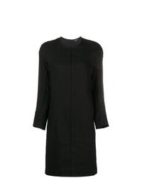 Vestido recto negro de Ann Demeulemeester