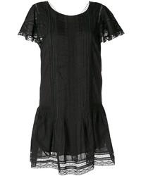Vestido recto negro de Diesel