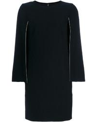 Vestido recto negro de DKNY