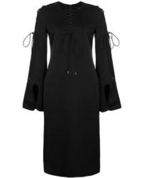 Vestido recto negro de Ellery