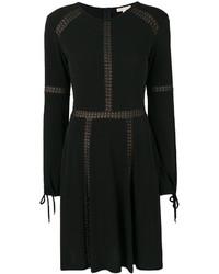 Vestido recto negro de MICHAEL Michael Kors