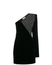 Vestido recto negro de Saint Laurent