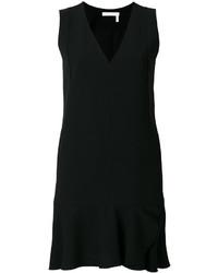 Vestido recto negro de See by Chloe