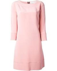 Vestido recto rosado
