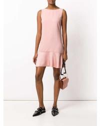 Vestido recto rosado de Theory
