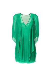 Vestido recto verde de By Malene Birger