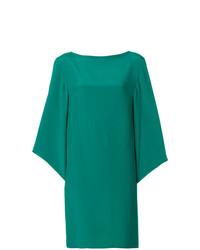 Vestido recto verde de Gianluca Capannolo