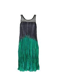 Vestido recto verde de Mara Mac