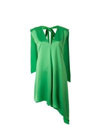 Vestido recto verde de MSGM