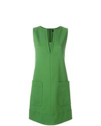 Vestido recto verde de Paule Ka