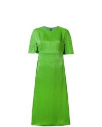 Vestido recto verde de Sies Marjan