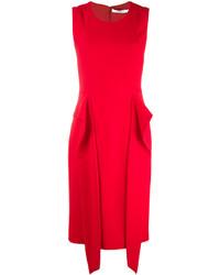 Vestido rojo de Givenchy