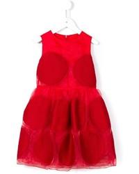 Vestido rojo de Simonetta
