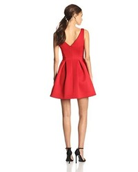 Vestido skater rojo de Ali Ro