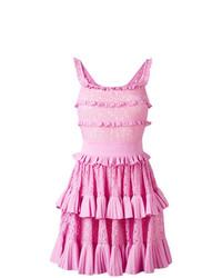 Vestido skater rosado de Antonino Valenti