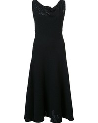 Vestido tejido negro de Derek Lam