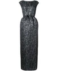Vestido tejido negro de Paule Ka