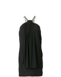 Vestido tubo negro de Saint Laurent