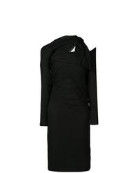 Vestido tubo negro de Versace