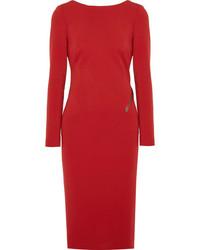 Vestido tubo rojo