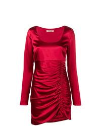 Vestido tubo rojo de Roberto Cavalli