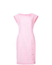 Vestido tubo rosado de Boutique Moschino