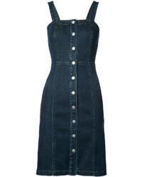 Vestido vaquero azul marino de AG Jeans