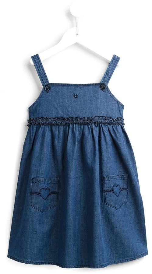 Vestido Vaquero Azul de Armani Junior