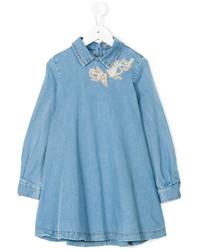 Vestido vaquero azul de Ermanno Scervino