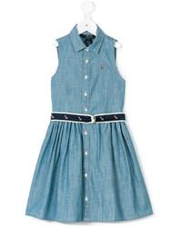 Vestido vaquero azul de Ralph Lauren