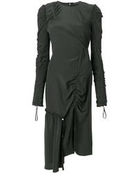 Vestido Verde Oscuro de Versace