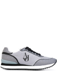 Zapatillas a Lunares Grises de Armani Jeans