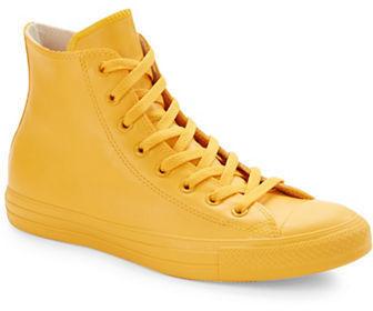 converse altas amarillas