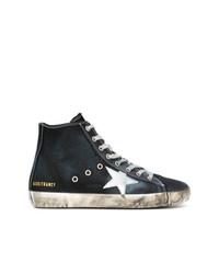 Zapatillas altas azul marino de Golden Goose Deluxe Brand