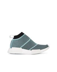 Zapatillas altas azules de adidas