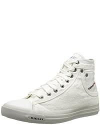 Zapatillas altas blancas de Diesel