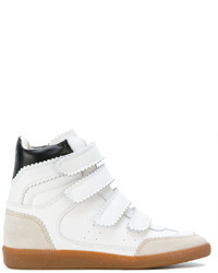 Zapatillas altas blancas de Isabel Marant