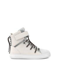 Zapatillas altas blancas de Swear