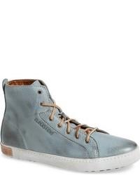 Zapatillas altas celestes