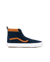 e97024ab1 ... Zapatillas altas de ante azul marino de Vans