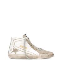 Zapatillas altas de ante blancas de Golden Goose Deluxe Brand