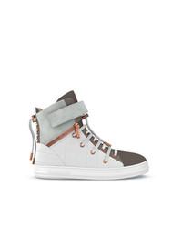 Zapatillas altas de ante blancas de Swear