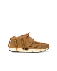 Zapatillas altas de ante marrón claro de VISVIM