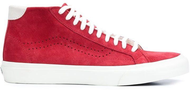 vans rojas altas
