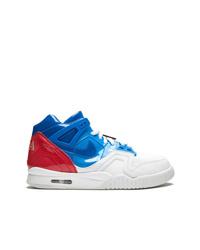 Zapatillas altas de cuero en multicolor de Nike