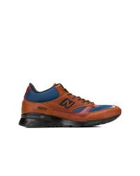 Zapatillas altas de cuero marrónes de New Balance